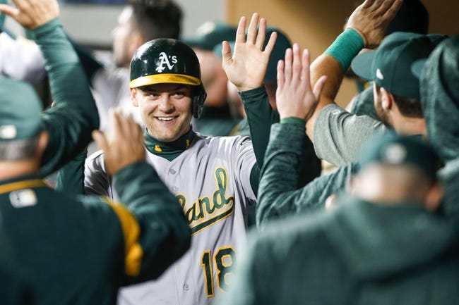 Seattle Mariners vs. Oakland Athletics - 9/25/18 MLB Pick, Odds, and Prediction