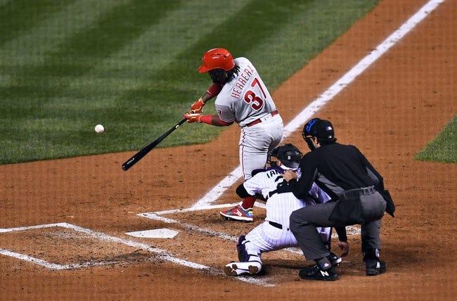 Colorado Rockies vs. Philadelphia Phillies - 9/26/18 MLB Pick, Odds, and Prediction