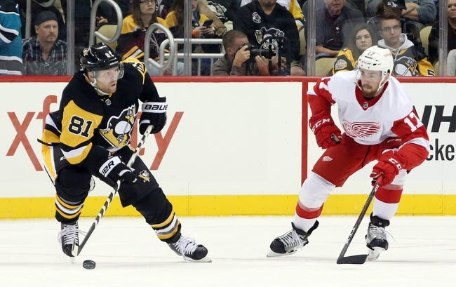 NHL | Detroit Red Wings (15-17-6) at Pittsburgh Penguins (18-12-6)