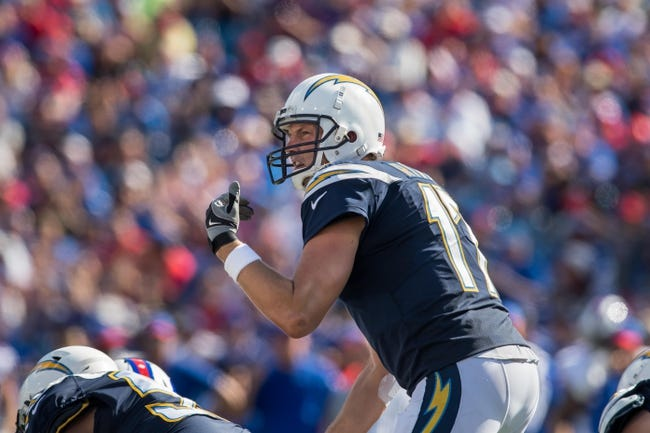 San Francisco 49ers at Los Angeles Chargers - 9/30/18 NFL Pick, Odds, and Prediction