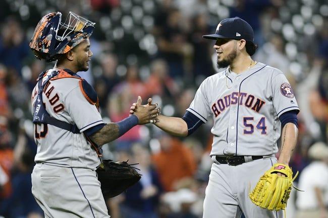 Baltimore Orioles vs. Houston Astros Game 2 - 9/29/18 MLB Pick, Odds, and Prediction