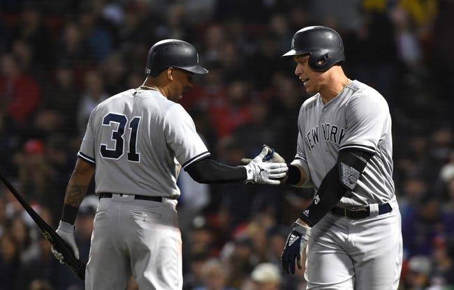 MLB | New York Yankees (98-61) at Boston Red Sox (107-52)