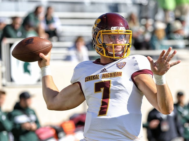 Central Michigan vs. Bowling Green - 11/10/18 College Football Pick, Odds, and Prediction