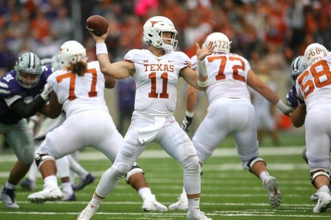 Texas vs. Oklahoma - 10/6/18 College Football Pick, Odds, and Prediction