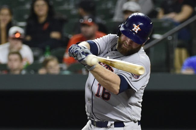 Baltimore Orioles vs. Houston Astros - 9/30/18 MLB Pick, Odds, and Prediction