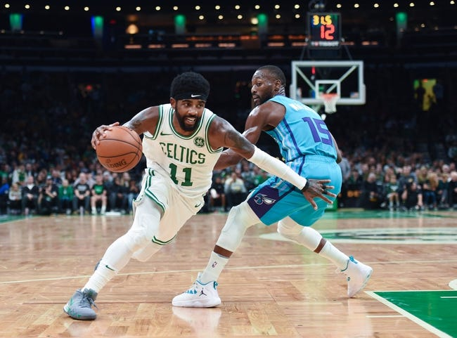 Charlotte Hornets vs. Boston Celtics - 11/19/18 NBA Pick, Odds, and Prediction