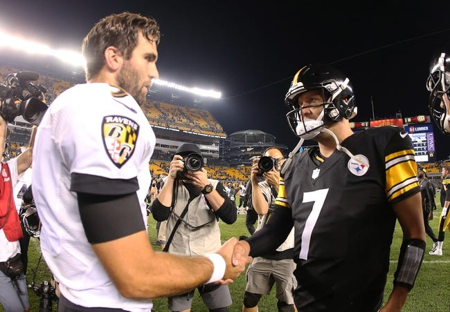 NFL | Pittsburgh Steelers (4-2-1) at Baltimore Ravens (4-4)