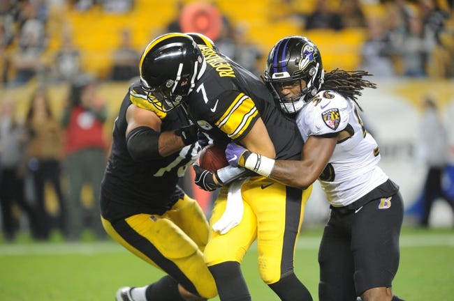 Pittsburgh Steelers at Baltimore Ravens - 11/4/18 NFL Pick, Odds, and Prediction