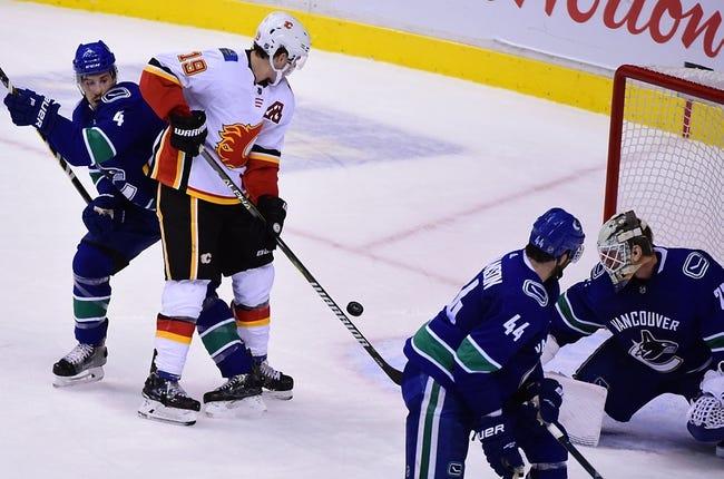 Calgary Flames vs. Vancouver Canucks - 10/6/18 NHL Pick, Odds, and Prediction