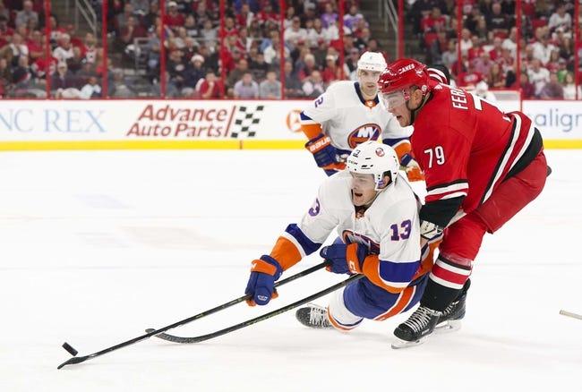 NHL | New York Islanders (4-4-1) at Carolina Hurricanes (6-3-1)