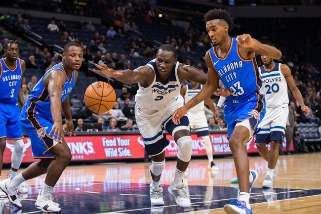 NBA | Minnesota Timberwolves (14-18) at Oklahoma City Thunder (21-10)