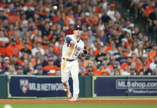Houston Astros at Cleveland Indians - 10/8/18 MLB Pick, Odds, and Prediction