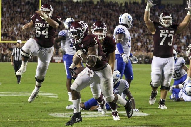South Carolina vs. Texas A&M - 10/13/18 College Football Pick, Odds, and Prediction