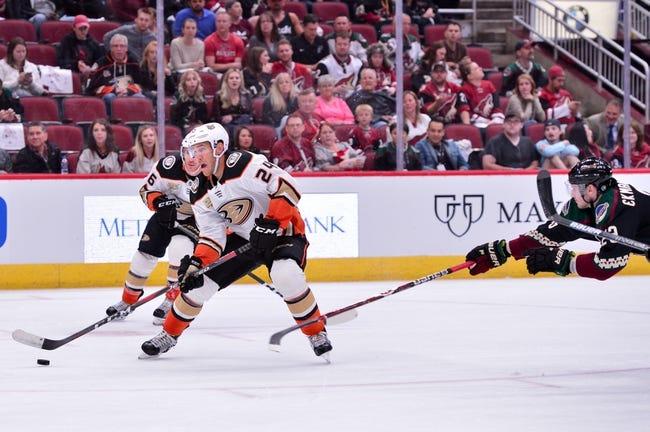 Anaheim Ducks vs. Arizona Coyotes - 10/10/18 NHL Pick, Odds, and Prediction