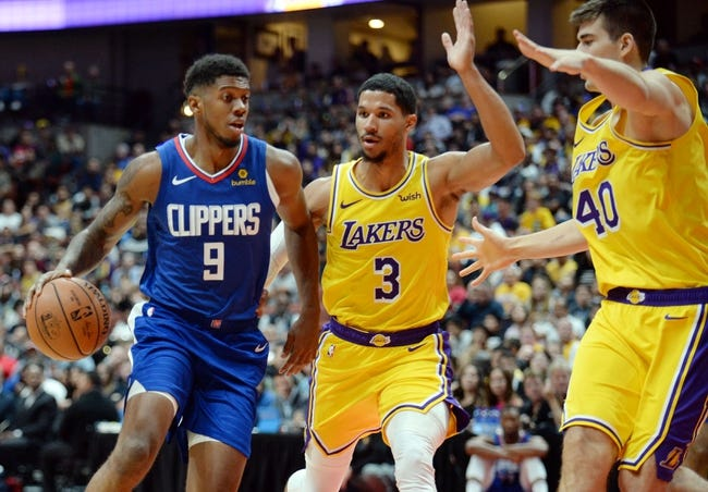 NBA | Los Angeles Clippers (20-15) at Los Angeles Lakers (20-14)