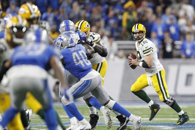 NFL | Detroit Lions (5-10) at Green Bay Packers (6-8-1)