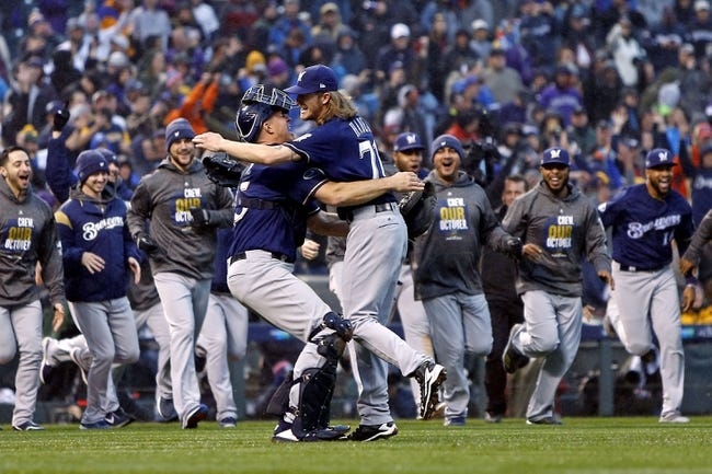 Milwaukee Brewers vs. Los Angeles Dodgers - 10/12/18 MLB Pick, Odds, and Prediction