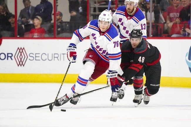 NHL   Carolina Hurricanes at New York Rangers