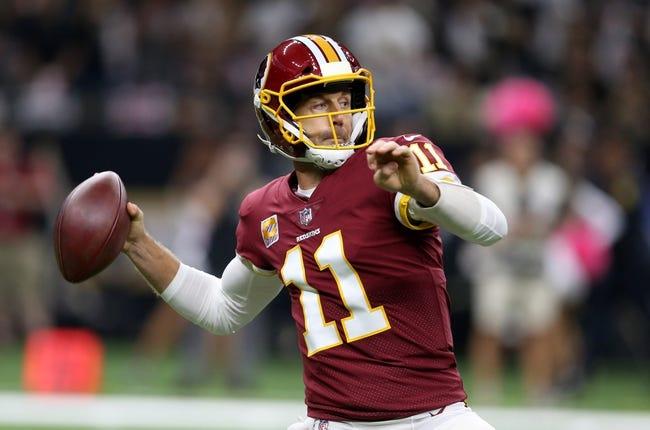 Washington Redskins vs. Carolina Panthers - 10/14/18 NFL Pick, Odds, and Prediction