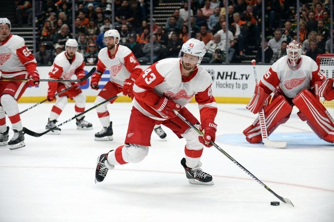 NHL | Anaheim Ducks at Detroit Red Wings