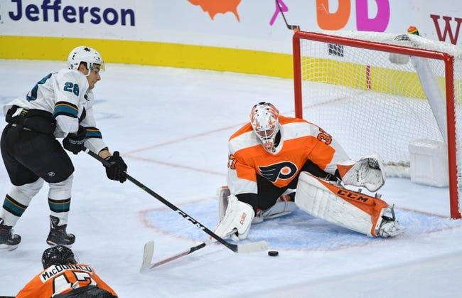 San Jose Sharks vs. Philadelphia Flyers - 11/3/18 NHL Pick, Odds, and Prediction