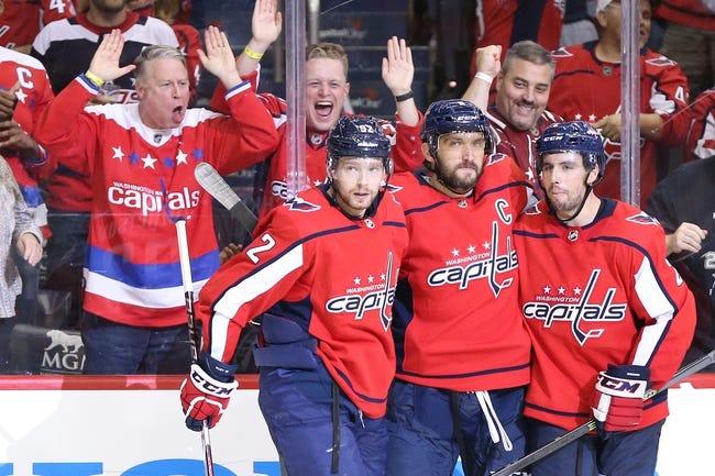 NHL | Washington Capitals (15-8-3) at Vegas Golden Knights (14-13-1)
