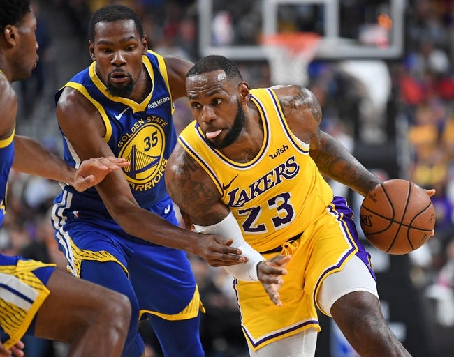 Golden State Warriors vs. Los Angeles Lakers - 10/12/18 NBA Pick, Odds, and Prediction