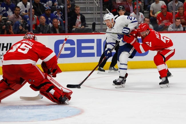 Toronto Maple Leafs vs. Detroit Red Wings - 12/6/18 NHL Pick, Odds, and Prediction