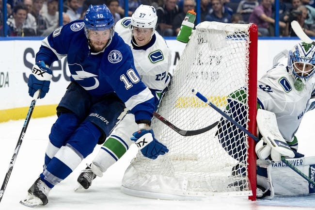 NHL | Tampa Bay Lightning (25-7-2) at Vancouver Canucks (16-16-4)