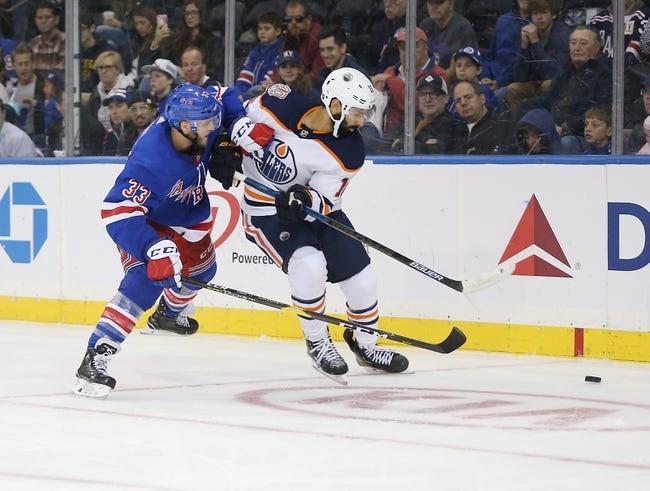 NHL | New York Rangers at Edmonton Oilers