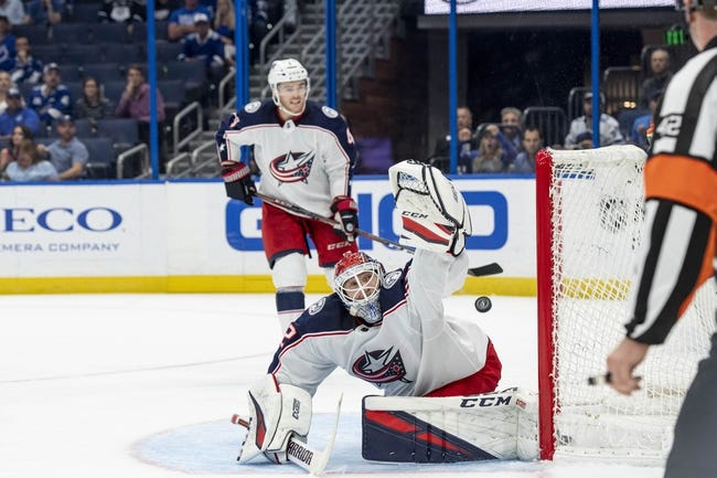 NHL | Columbus Blue Jackets at Tampa Bay Lightning