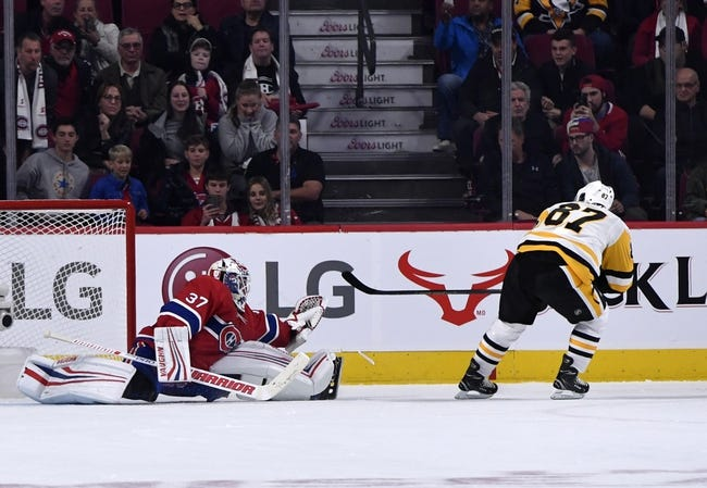 NHL   Pittsburgh Penguins at Montreal Canadiens
