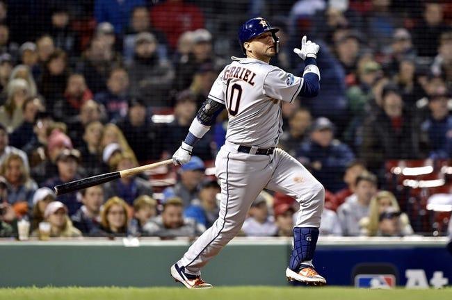 Boston Red Sox vs. Houston Astros - 10/14/18 MLB Pick, Odds, and Prediction