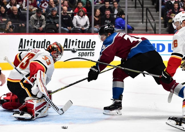 NHL | Colorado Avalanche (7-3-2) at Calgary Flames (7-5-1)