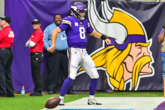 Minnesota Vikings at New York Jets - 10/21/18 NFL Pick, Odds, and Prediction