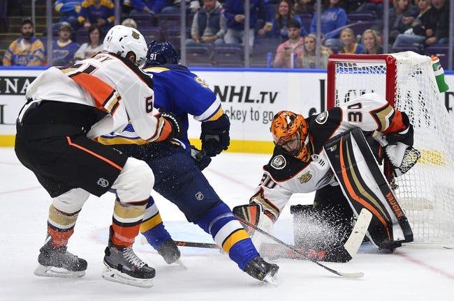 NHL | St. Louis Blues at Anaheim Ducks