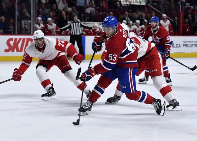 NHL | Montreal Canadiens at Detroit Red Wings