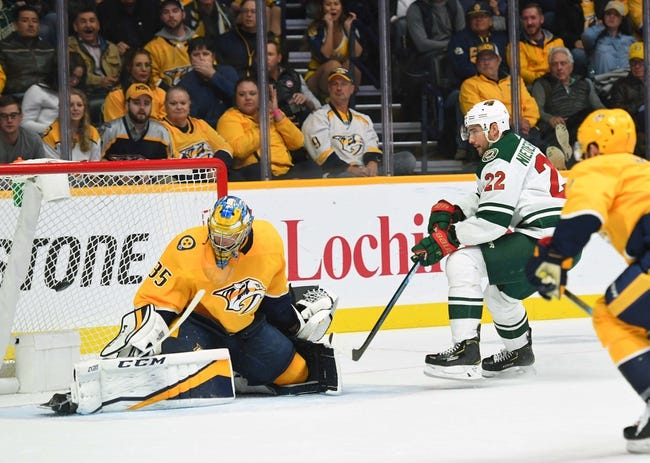 NHL | Nashville Predators at Minnesota Wild