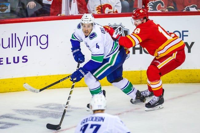 NHL | Vancouver Canucks (18-18-4) at Calgary Flames (23-12-3)