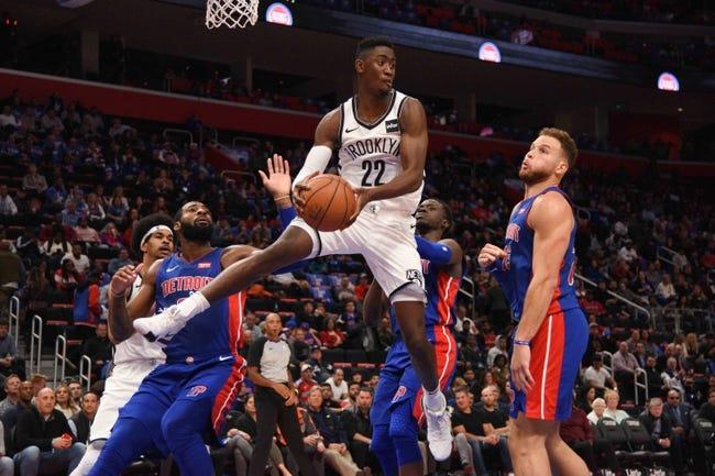 NBA | Detroit Pistons (4-2) at Brooklyn Nets (2-5)