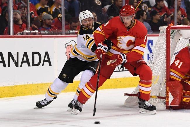 NHL | Calgary Flames (25-12-4) at Boston Bruins (22-14-4)
