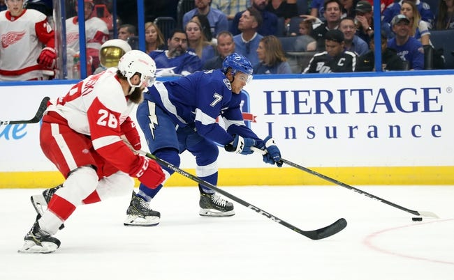 NHL | Tampa Bay Lightning (20-7-1) at Detroit Red Wings (12-12-3)
