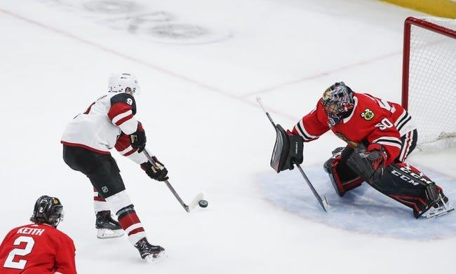 NHL | Arizona Coyotes at Chicago Blackhawks