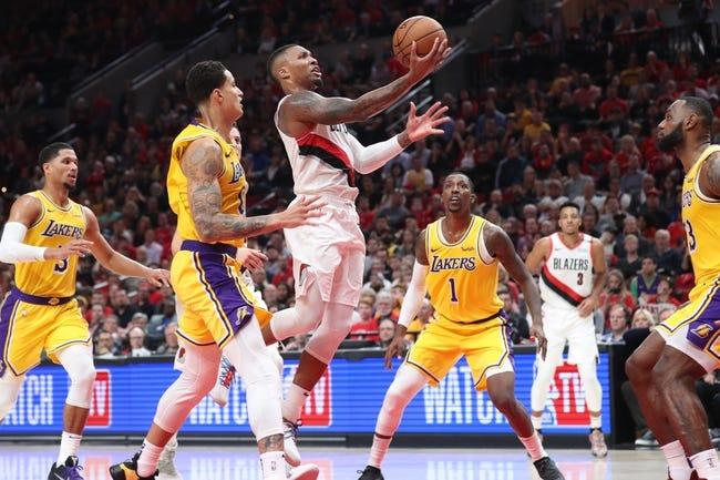 Portland Trail Blazers vs. Los Angeles Lakers - 11/3/18 NBA Pick, Odds, and Prediction