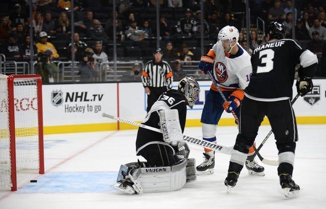 NHL   Los Angeles Kings at New York Islanders