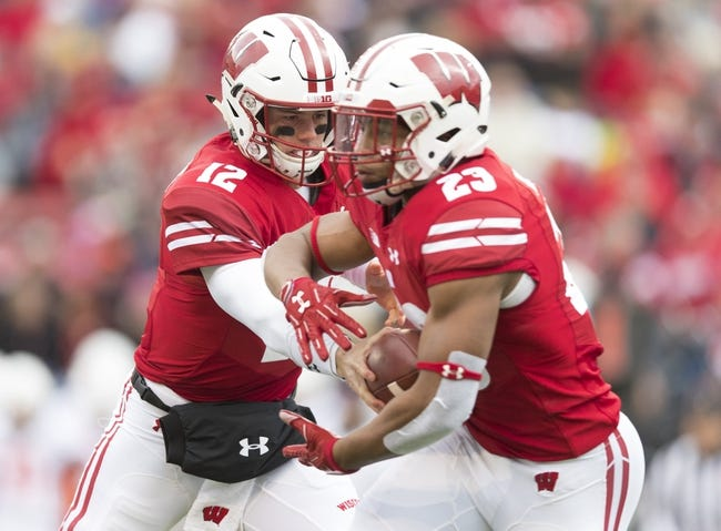 CFB   Rutgers Scarlet Knights (1-7) at Wisconsin Badgers (5-3)