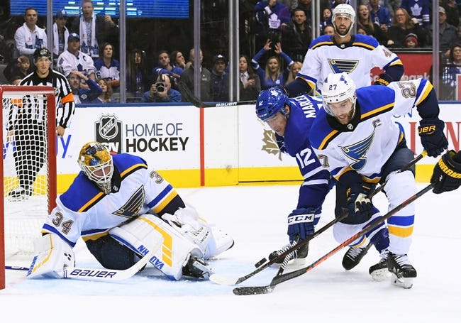 NHL | Toronto Maple Leafs at St. Louis Blues