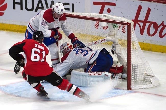 NHL | Ottawa Senators (12-12-3) at Montreal Canadiens (12-10-5)