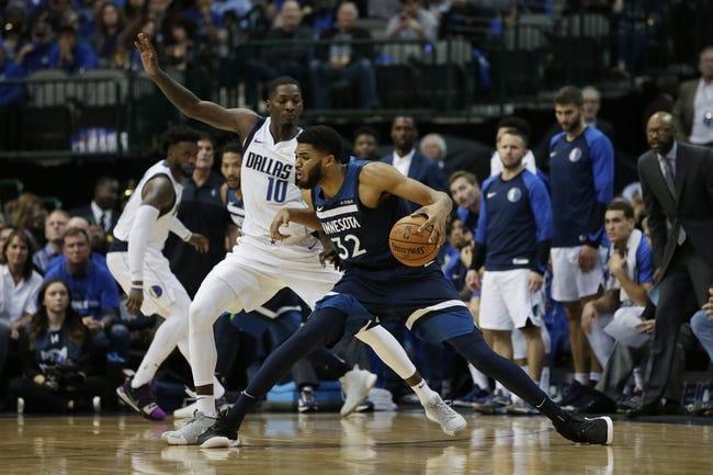 NBA | Dallas Mavericks at Minnesota Timberwolves