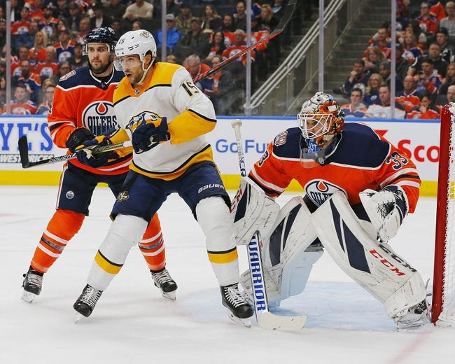 Nashville Predators vs. Edmonton Oilers - 10/27/18 NHL Pick, Odds, and Prediction